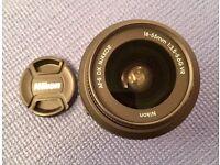 For Sale -Excellent Condition - -Nikon AF-S DX NIKKOR 18-55 mm f/3.5-5.6G VR II Lens