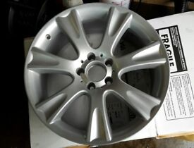 "1 X REFURBISHED GENUINE MERCEDES C CLASS CLS 18"" MENKET ALLOY WHEEL A2194010502"