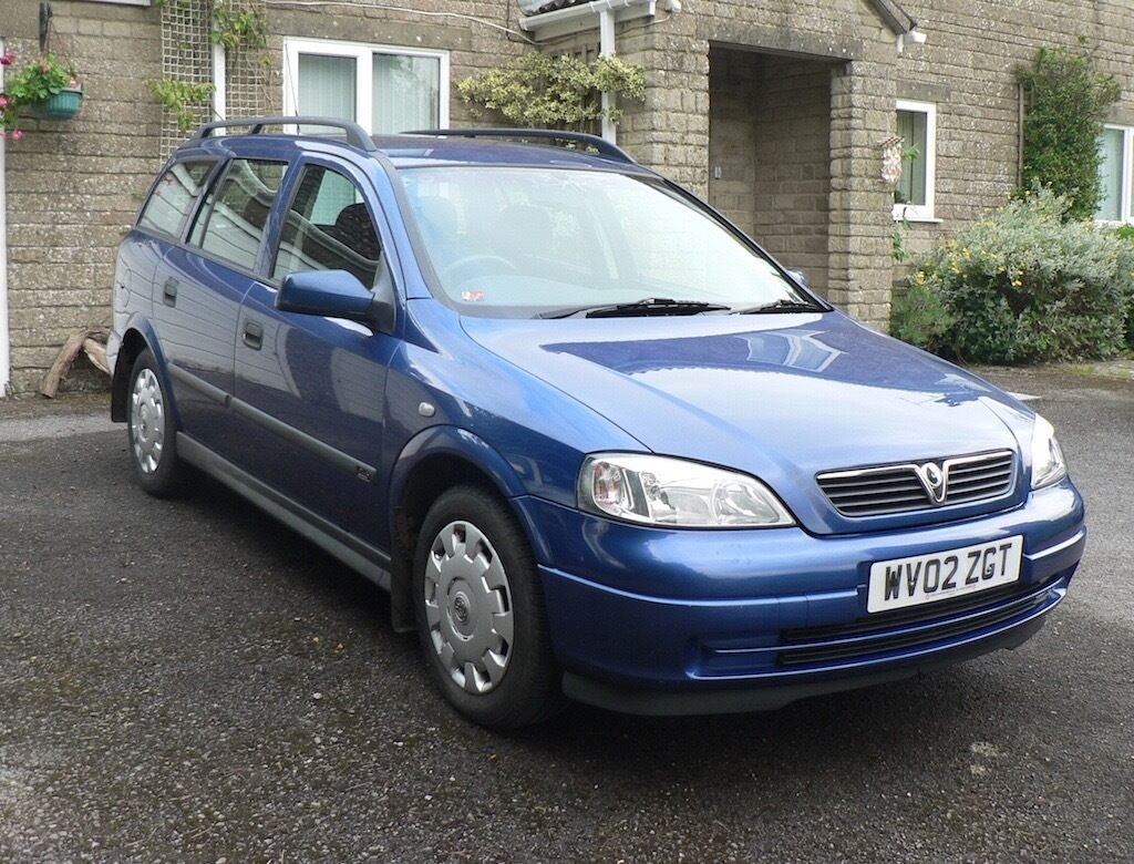 2002 (02) Vauxhall Astra Club Estate 1.6i Manual 5 Door | in ...