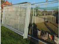 Metal Fencing, Harris Style, Round Top Panels