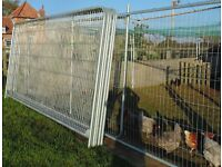 New & used Metal Fencing, Harris Style, Round Top Panels. Security, chicken run, garden trellis etc