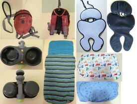 pushchair accessories, baby backpack, cot bed sheet