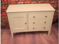 White High Gloss Sideboard Or Chest Of Drawers From Next (Delivery Available)