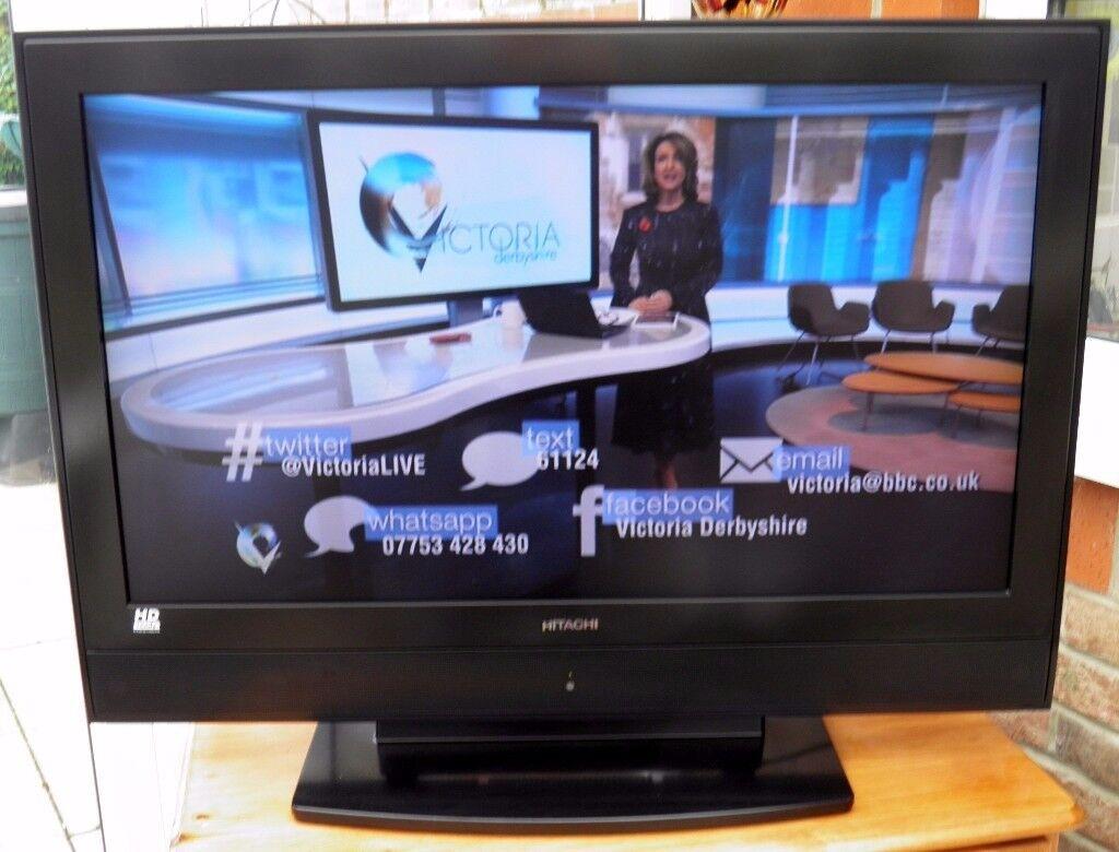 Hitachi 37LD8D20U Television
