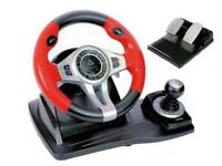 Top drive gt450 steering wheel, pedals and game