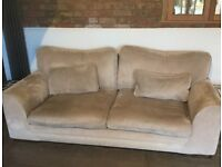 Scs two and three seater sofas