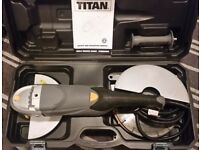 "TITAN 4.5"" & 9"" Angle Grinders - Only Used Once"
