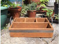 Vintage Wooden Trug- Plant Storage