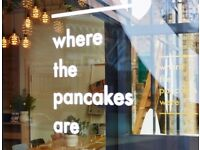 Experienced chef F/T - London Bridge - WHERE THE PANCAKES ARE....