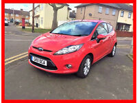 (41000 Miles) --- 2011 Ford Fiesta 1.25 Zetec --- Low Mileage --- Cheap on insurance + Tax--- Fiesta