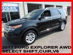 2011 Ford EXPLORER 4WD XLT,SELECTSHIFT,V6,7 PASS,BLUETOOTH