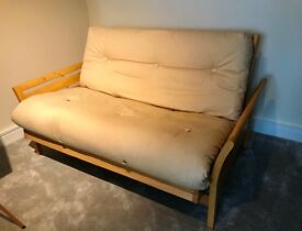 Futon double sofa bed for sale