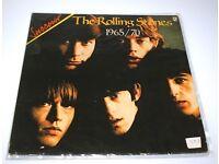 LOT OF 9 AUTHENTIC VINYL LP's ROLLING STONES THE PRODIGY HUMAN LEAGUE ELVIS RATTLE & HUM U2-SETTLERS