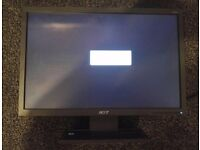 "2 x Acer V193W 19"" Widescreen LCD Monitors"