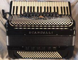 Scandalli 'Super VI' Extreme Piano Accordion (in mint condition)