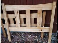 Excellent Condition Solid Wood Single Bed Frame