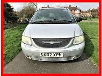 7 Seater -- Chrysler Grand Voyager 3.3 5dr -- Automatic -- Part Exchange Welcome -- Drives Good
