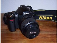 Nikon D40 DSLR Camera.