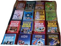 Set of Guinnes Book of records 1972 through to 1992