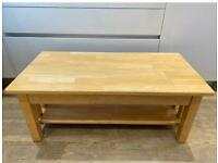 Free solid wood coffee table (reserved)
