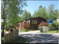 Log Cabin style 3 bedroom holiday lodge on popular Dorset park, great investment opportunity
