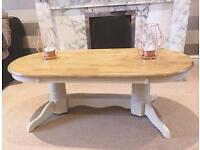 Summer Oak and Cream Coffee Table