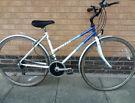 Ladies Raleigh Pioneer Hybrid bike good condition (city centre)
