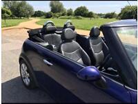 Mini Cooper 1.6 petrol Convertible (low mileage)