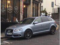 Audi A3 sline sport back black edition 85000 miles full service history