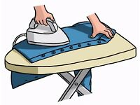 Ironing services in your own home