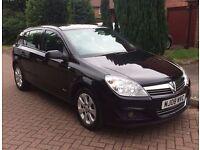 2008 Vauxhall Astra 1.6 i VVT 16v Breeze 5 Door Manual Hatchback Petrol Black