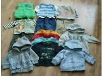 Baby boys large clothes bundle 3-6 months