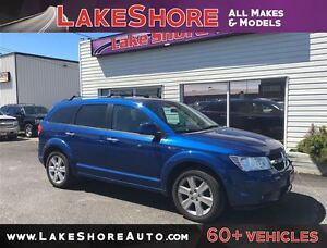 2009 Dodge Journey R/T CLEAN CAR PROOF ALLOY WHEELS LEATHER Windsor Region Ontario image 1