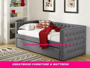 SINGLE SIZE DAY BED WITH PULL OUT BED...$499..DEAL OF THE WEEK!!!