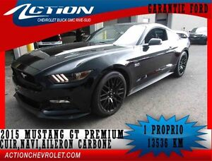 2015 Ford MUSTANG GT Premium,coupe,cuir,navi,bluetooth