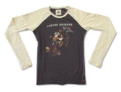 Lynyrd Skynyrd Trunk LTD Skull Black Raglan Long Sleeve Juniors Girls Shirt NEW - Girls Trunk