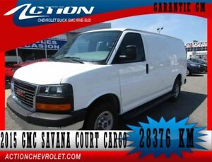 2015 GMC SAVANA CARGO 2500 COURT,AUTO,AIR,V8