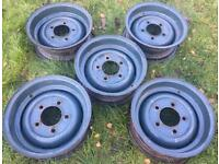 Land Rover 127 130 Wheel Rims ANR1534 Forward Control 569203 1 Ton 569204 6.5x16