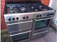 Stainless steel Belling Range cooker