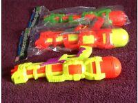 3 x Toy Water Guns