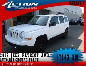 2012 Jeep PATRIOT 4WD North,AUTO,AIR,GROUPE NORTH