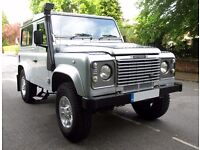 Land Rover Defender 90 County Hardtop TD5 2006 (56) JE Engineering tuned & EXTRAS