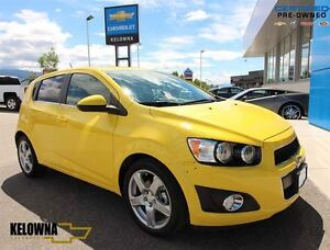 2015 Chevrolet Sonic LT Manual | Sunroof | Back-up Cam | Alloys