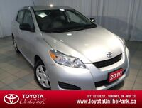 2010 Toyota Matrix Convenience Package *One Owner*