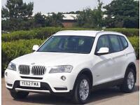 BMW X3 3.0 XDRIVE30D SE 5d AUTO 255 BHP (white) 2012