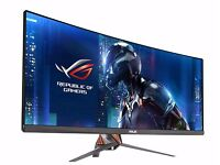 "ASUS ROG SWIFT Curved PG348Q, 34"" UWQHD (3440x1440) Gaming monitor, IPS, up to 1"