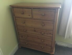 Big Wooden Chest of Drawers