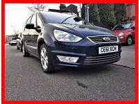 PCO 7 Seater --- Ford Galaxy 2.0 TDCi Titanium X Diesel AUTO --- Cream Leather --- Top Spec Galaxy