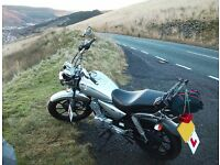 Yamaha 125 YBR - good condition. Starts first time and good runner! Recently serviced, mot and tax.
