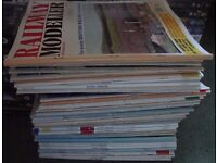 Collection Of Railway Modeller Magazines 47 In Total In Very Good Condition